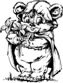 Ewok Coloring Pages How to draw agni and rudra MTM