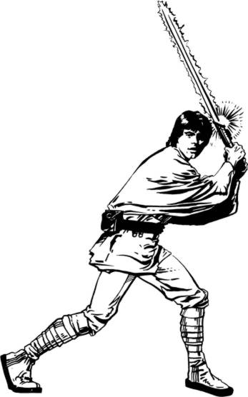 Luke skywalker star wars database for Luke skywalker coloring page